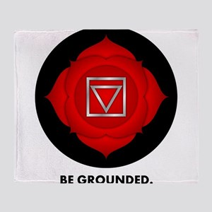 Be Grounded. Throw Blanket