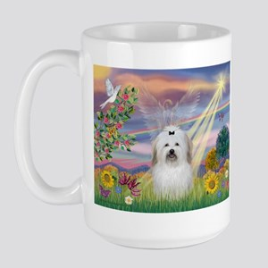 Cloud Angel & Coton Large Mug