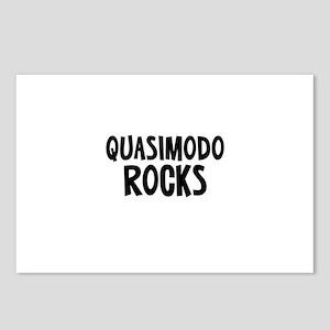 Quasimodo  Rocks Postcards (Package of 8)