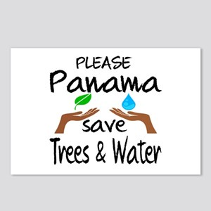 Please Panama Save Trees Postcards (Package of 8)
