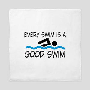 swimming Queen Duvet