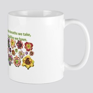 Number of daylilies Mug