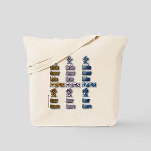 Multi-Love x3 Tote Bag