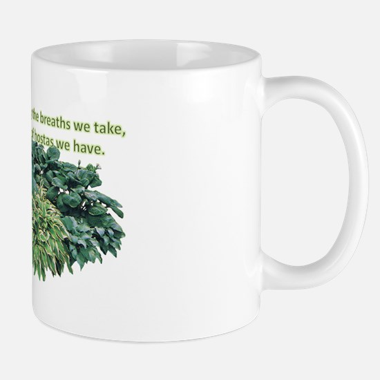 Number of hostas Mug
