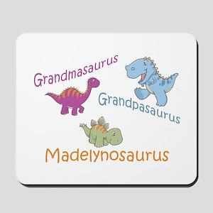 Grandma, Grandpa & Madelynosa Mousepad