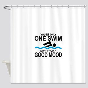 schwimmen Shower Curtain