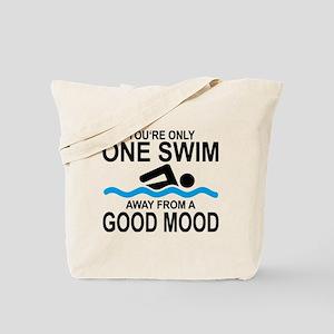 schwimmen Tote Bag