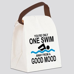 schwimmen Canvas Lunch Bag