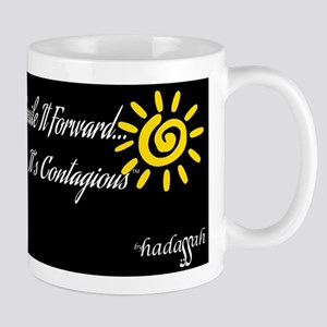 Smile It Forward-Short Mug-Black & White Mugs