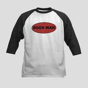 Boob Man Kids Baseball Jersey