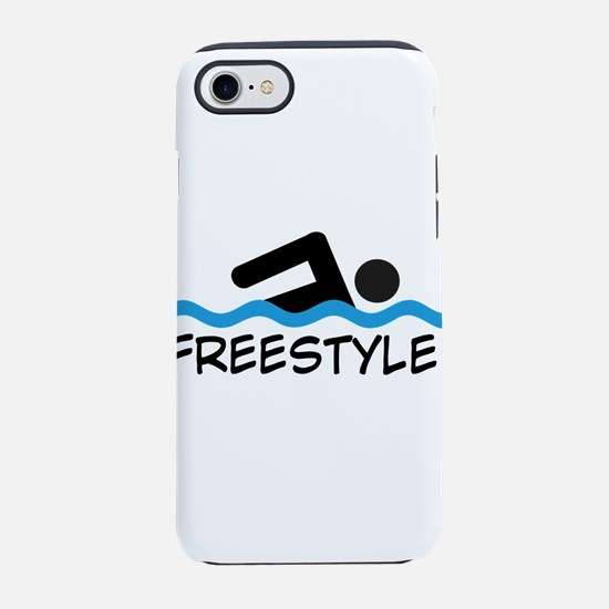 Freestyle Swimming iPhone 8/7 Tough Case