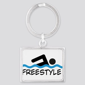 Freestyle Swimming Keychains
