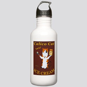Calico Cat Ice Cream Stainless Water Bottle 1.0L