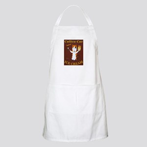 Calico Cat Ice Cream Light Apron