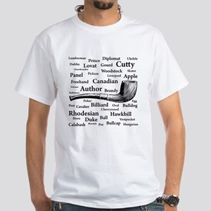 Pipe Shapes White T-Shirt