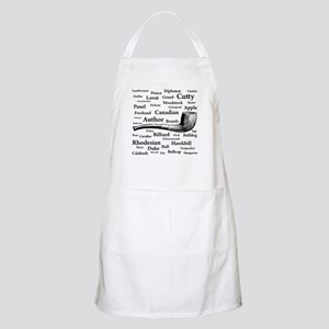 Pipe Shapes BBQ Apron