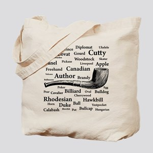 Pipe Shapes Tote Bag