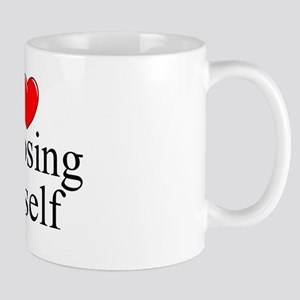 """I Love (Heart) Exposing Myself"" Mug"