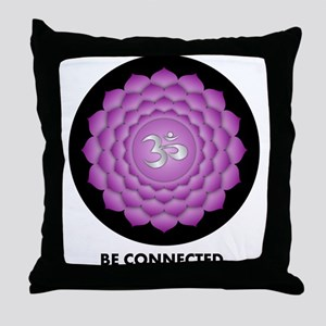 Be Connected. Throw Pillow