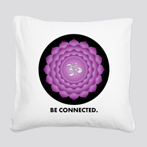 Be Connected. Square Canvas Pillow