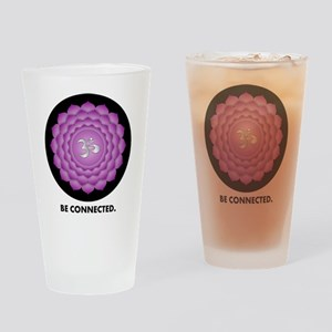 Be Connected. Drinking Glass