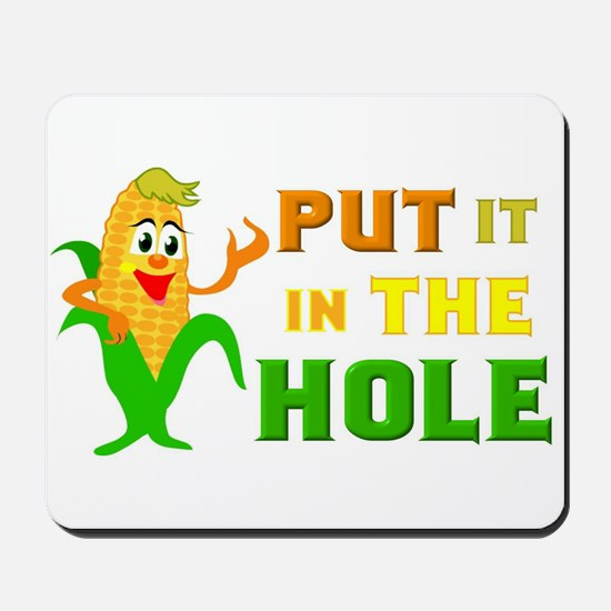In The Hole Mousepad