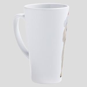 Bichon Frise Christmas 17 oz Latte Mug