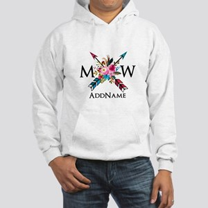 Boho Chic Arrow Monogram Sweatshirt