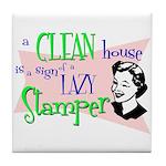 Lazy Stamper Tile Coaster