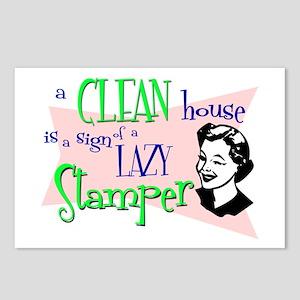 Lazy Stamper Postcards (Package of 8)