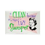 Lazy Stamper Rectangle Magnet (10 pack)