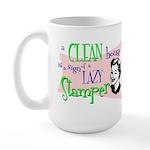 Lazy Stamper Large Mug