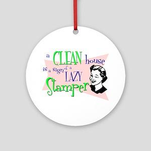 Lazy Stamper Ornament (Round)