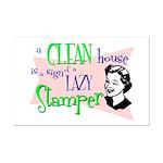 Lazy Stamper Mini Poster Print