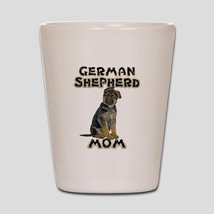 German Shepherd Mom Shot Glass
