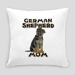 German Shepherd Mom Everyday Pillow