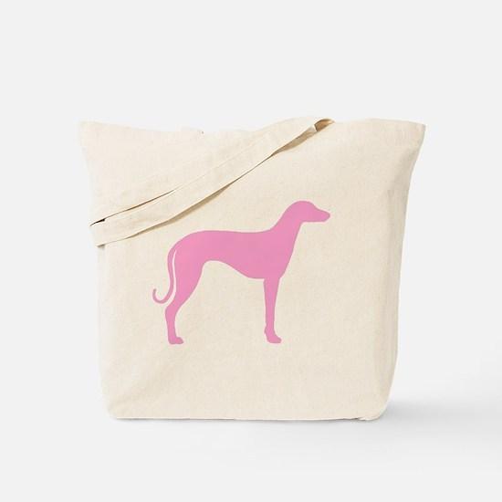 Pink Sloughi Tote Bag