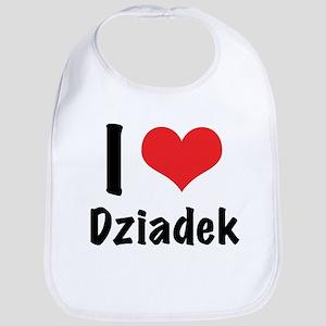 I 'heart' Dziadek Bib