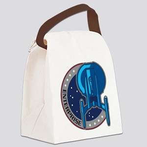 Enterprise Patch Canvas Lunch Bag