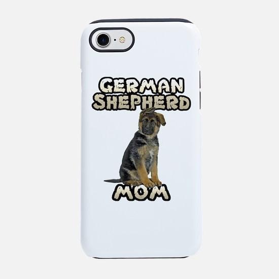 German Shepherd Mom iPhone 8/7 Tough Case