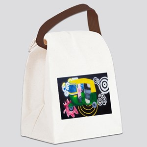 arts of india Canvas Lunch Bag