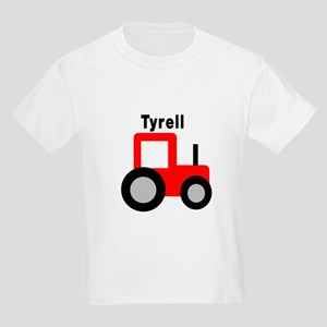 Tyrell - Red Tractor Kids Light T-Shirt