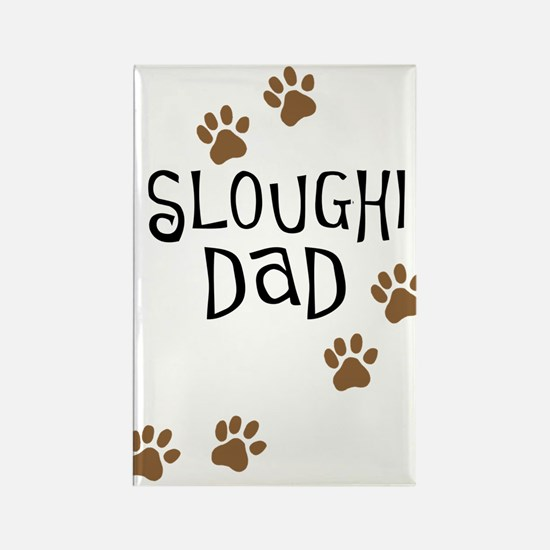 Sloughi Dad Rectangle Magnet (10 pack)