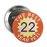 Best Year - Button - 22