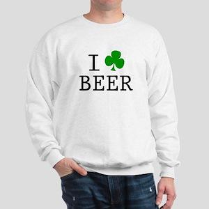 I Rish Beer Sweatshirt