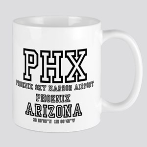 AIRPORT CODES - PHX - PHOENIX SKY HARBOR, ARI Mugs