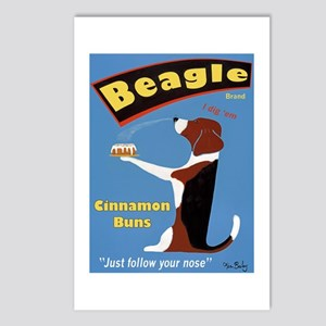 Beagle Buns Postcards (Package of 8)
