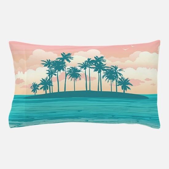 Tropical Island Pillow Case
