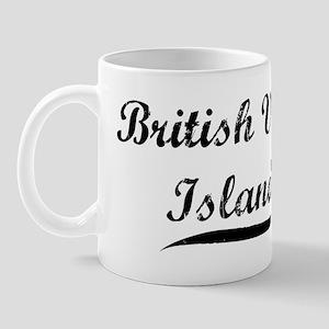British Virgin Islands (vinta Mug