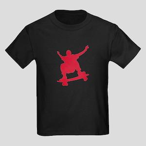 Skateboarder vintage Kids Dark T-Shirt